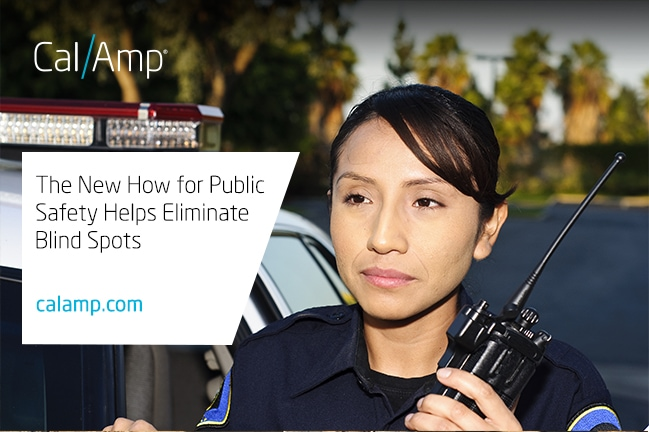 The New How for Public Safety Helps Eliminate Blind Spots