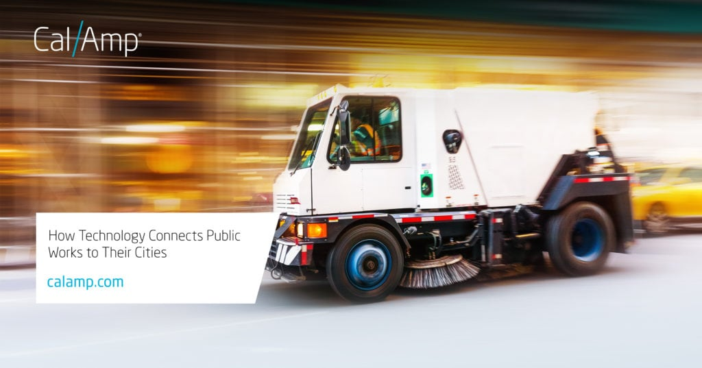 CalAmp for Government Fleets